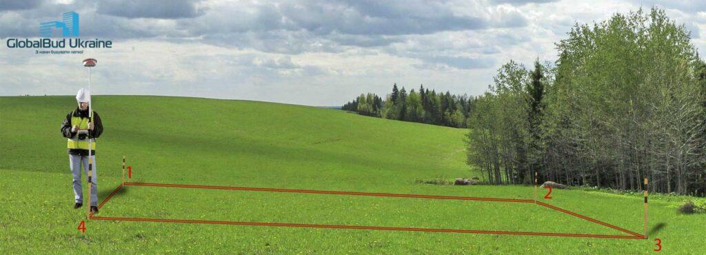 Виніс внатуру меж земельної ділянки в Києві